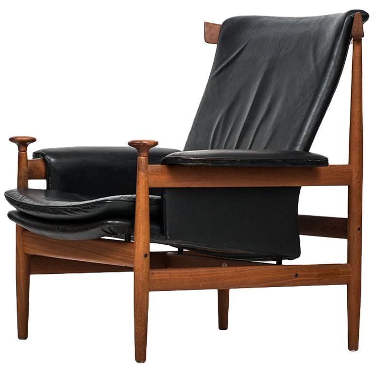 Finn Juhl Easy Chair Model Bwana by France & Daverkosen in Denmark