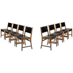 Dining Chairs Designed by Kai Lyngfeldt Larsen Produced by Søren Willadsen