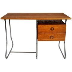 Vintage Midcentury Working Desk, Czechoslovakia, the 1950s