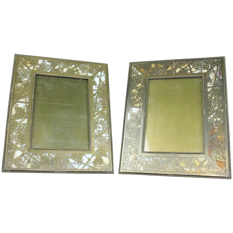 Tiffany Studios Grapevine Picture Frame For Sale At 1stdibs