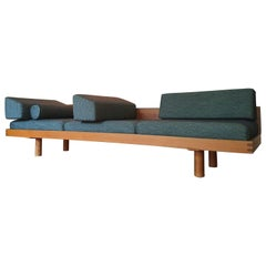 Big Daybed L 09 I of Pierre Chapo in French Elm, 1970