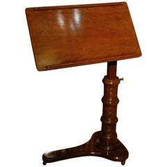 Mahogany Reading Table or Book Stand