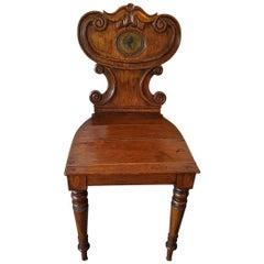 Late 18th Century English Oak Chair