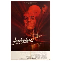 Original Vintage Film Poster for the Francis Ford Coppola Movie Apocalypse Now
