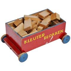 Ado Ko Verzuu Kids Cubes Cart Kleuterblokken, 1935