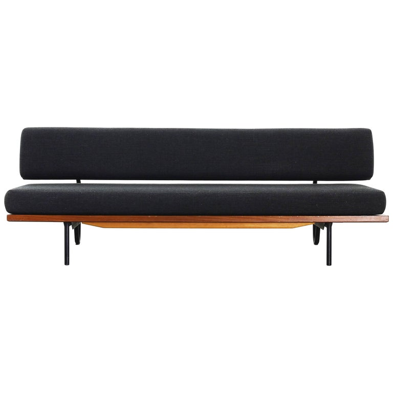 Rare Beautiful German Sofa Daybed by Franz Hohn for Honeta in 1950, Germany