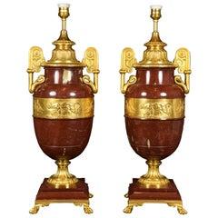 Pair of Empire Vases, France, Hyppolyte Heizler