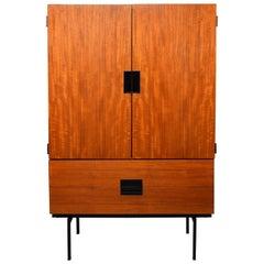 Cees Braakman Teak Buffet Cabinet Model CU07 for Pastoe, 1950s