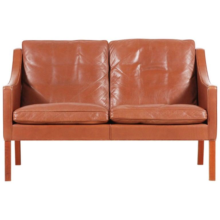 Børge Mogensen, 2-Seat Sofa Model 2208, 1960s For Sale