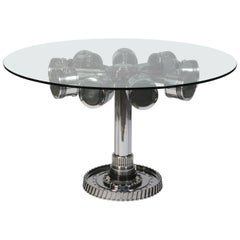 Aviation Furniture Dining Table by Jean-Pierre Carpentier AVIATIONSPIRIT