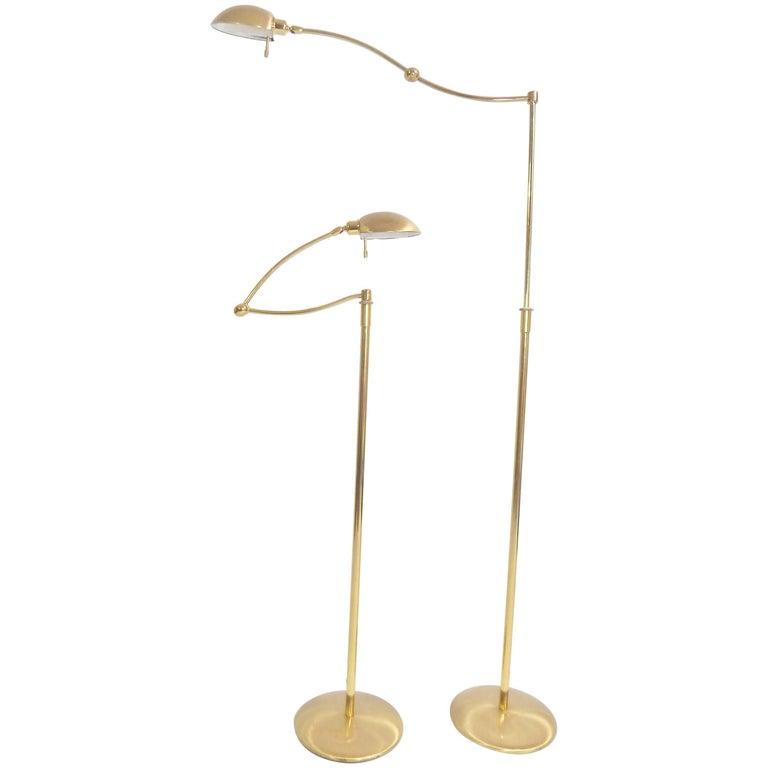 Brass Floor Lamps By Holtkoetter, Holtkoetter Floor Lamps