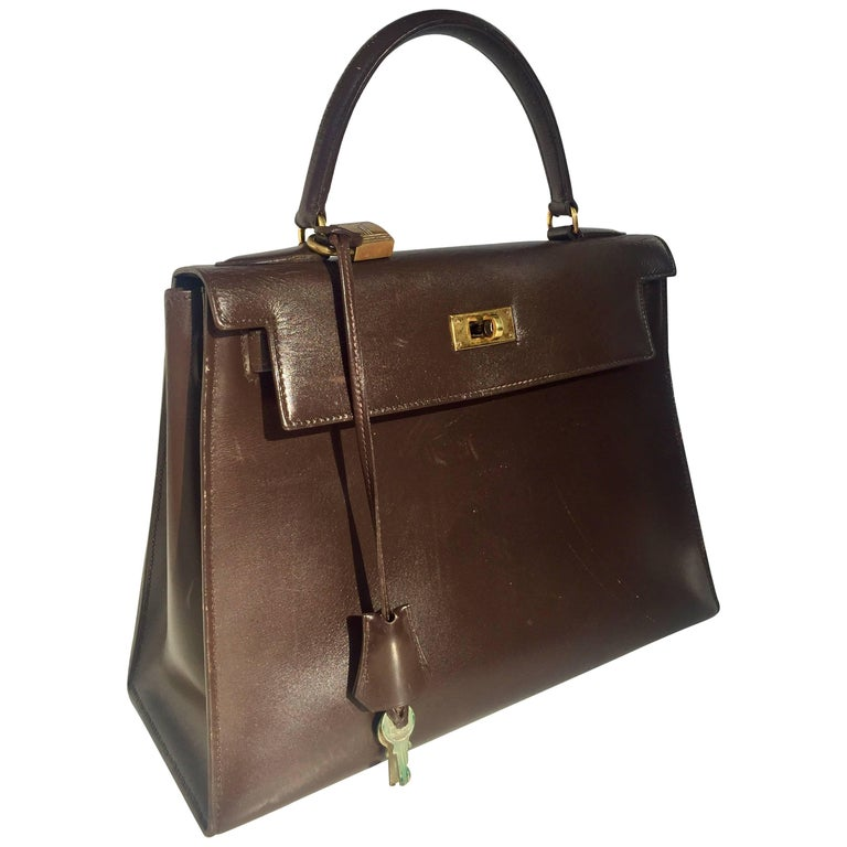 Hermes Paris for Bonwit Teller Kelly Bag For Sale