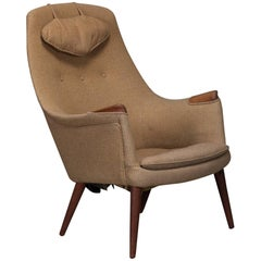"""Mama Bear"" Style Danish Modern Lounge Chair"