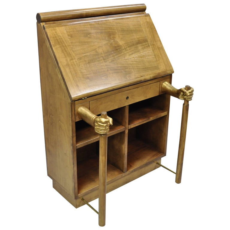 Amanuense Secretary Desk by Adolfo Natalini for Mirabili Limited Edition 2/99 For Sale