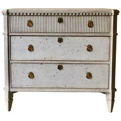 Swedish Gustavian Chest of Drawers