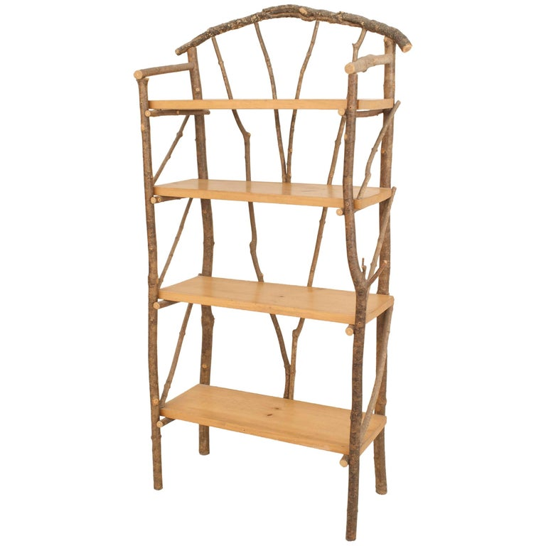 20th century italian three tier cane bar or tag re for. Black Bedroom Furniture Sets. Home Design Ideas