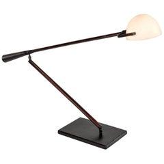 Rare Italian Desk Lamp by Paolo Rizzatto and Gino Sarfatti for Arteluce, 1975