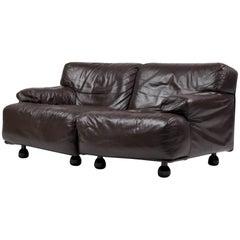 Fiandra Two-Seat Sofa by Vico Magistretti for Cassina
