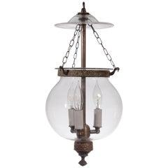 19th Century English Globe Hall Lantern
