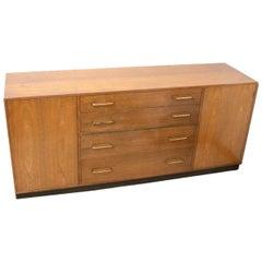 Edward Wormley Oak Sideboard for Dunbar