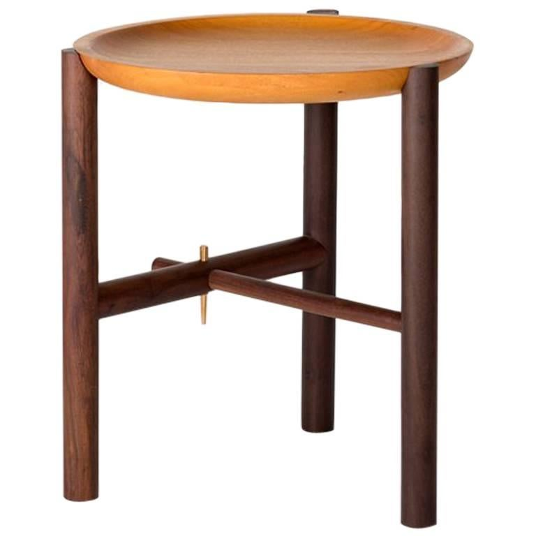 Ocum Side Table in Tropical Wood