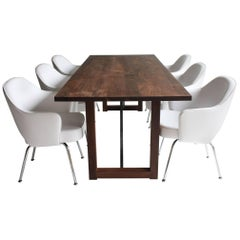 Modern Walnut Dining Table