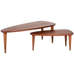 Tikin Coffee Table Set made in Tropical Wood