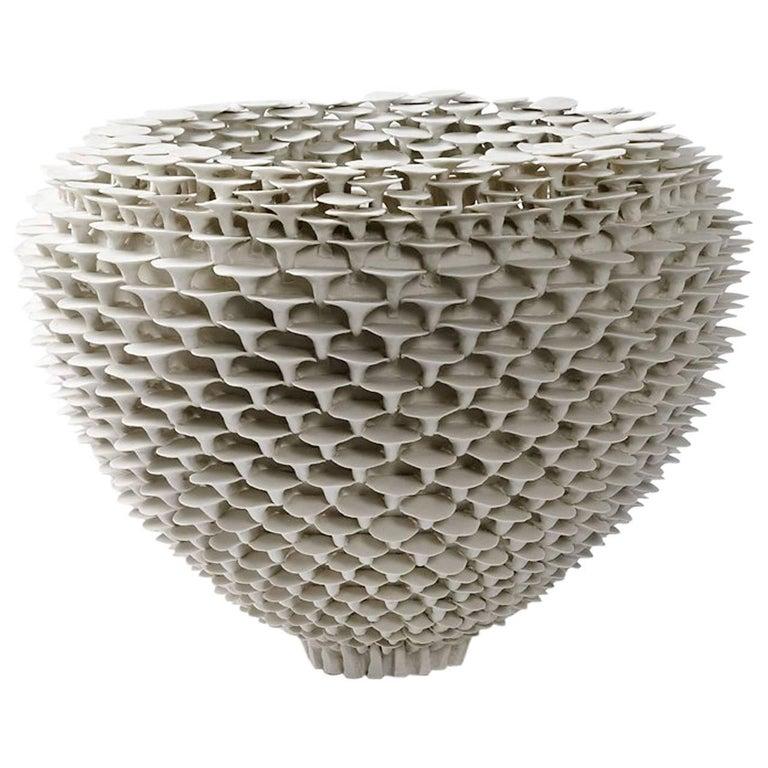 """Porcelain Sculpture """" Solctice """", exclusivity for Aurélien Gendras For Sale"""