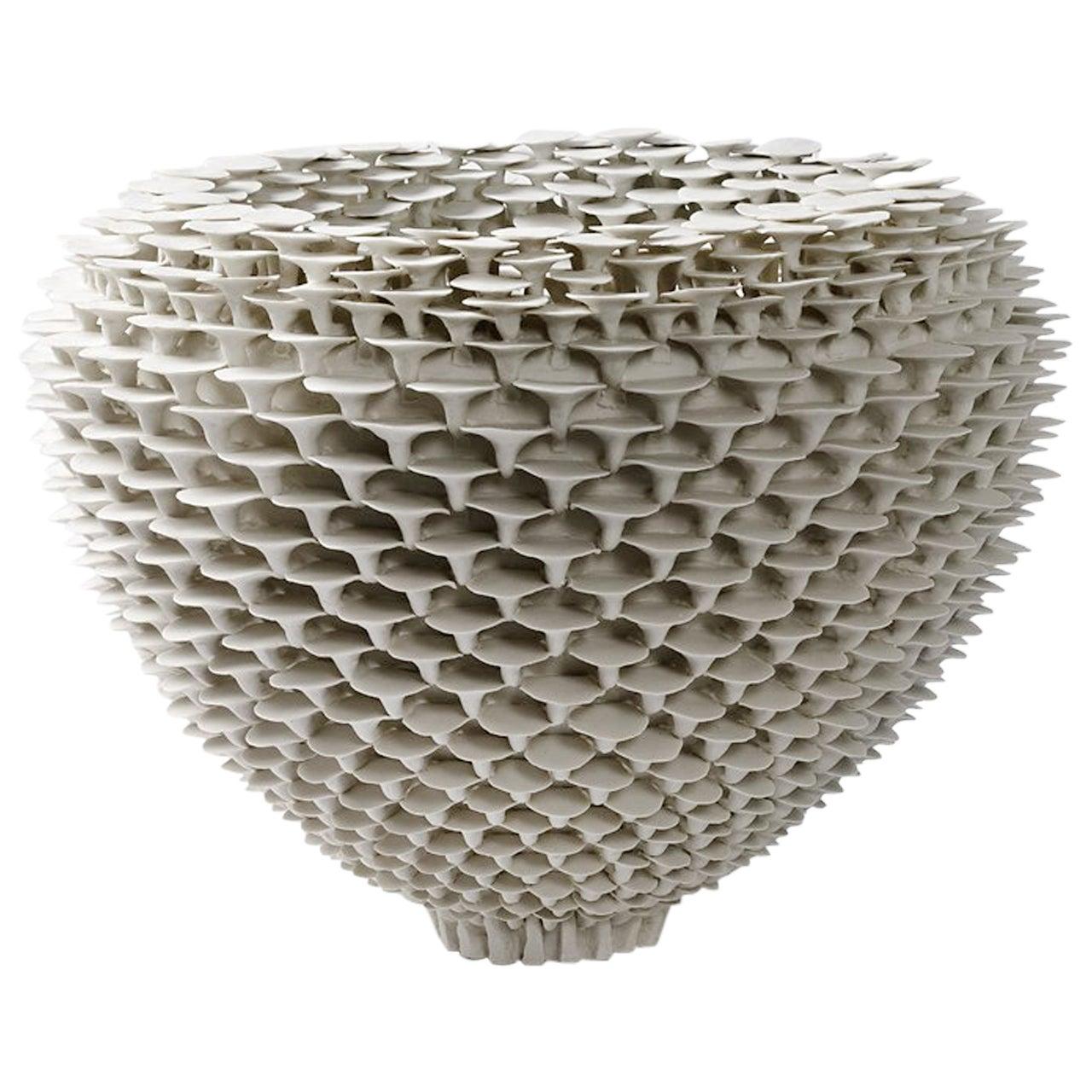 """Porcelain Sculpture """" Solctice """", exclusivity for Aurélien Gendras"""