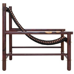 K'áan Armchair in Katalox 'Mexican Ebony' Tropical Wood