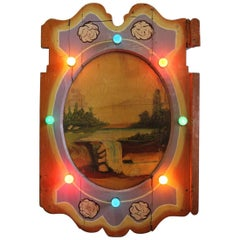 1930s American Carnival Light Up Board