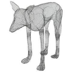 'Wolf' Sculpture by Benedetta Mori Ubaldini