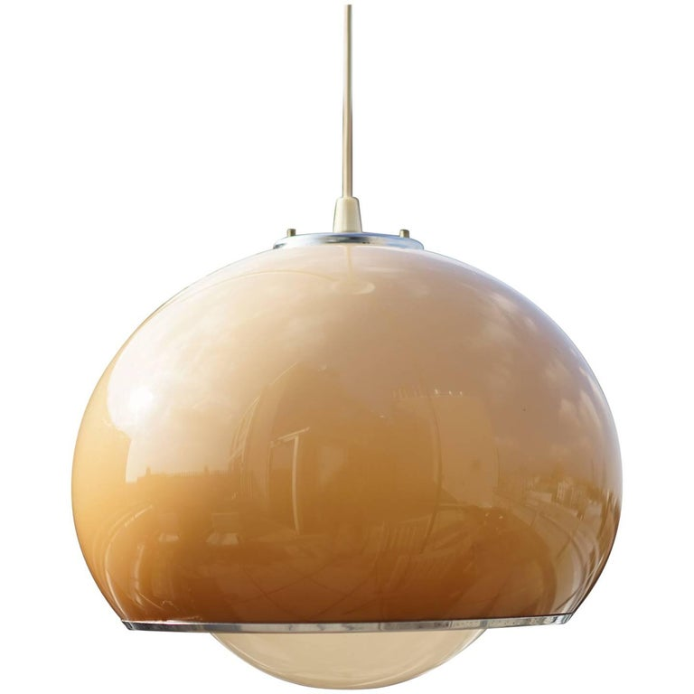 Acrylic pendant light by harvey guzzini for sale at 1stdibs acrylic pendant light by harvey guzzini for sale aloadofball Gallery