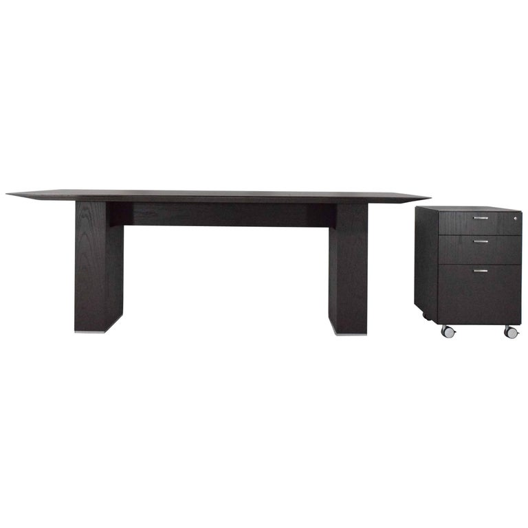 Desk and File Cabinet by Tuohy