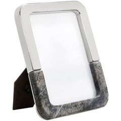 Dual Frame Carnico Marble and Silver - In Stock