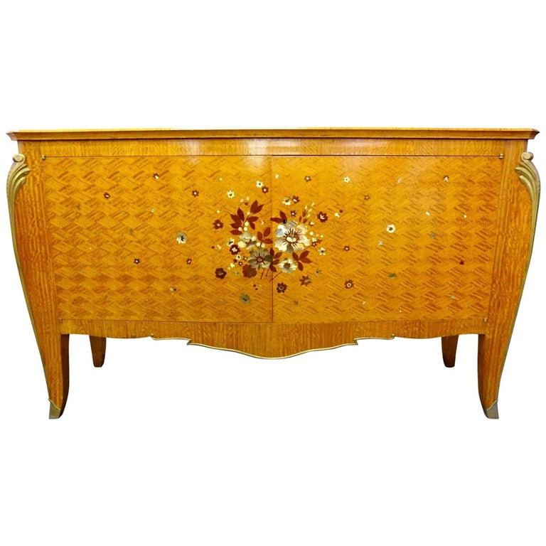 Commode with Mother-of-Pearl Inlay by Copin