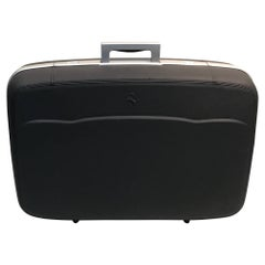 Ferriari Leather  Travel Case Grey Leather