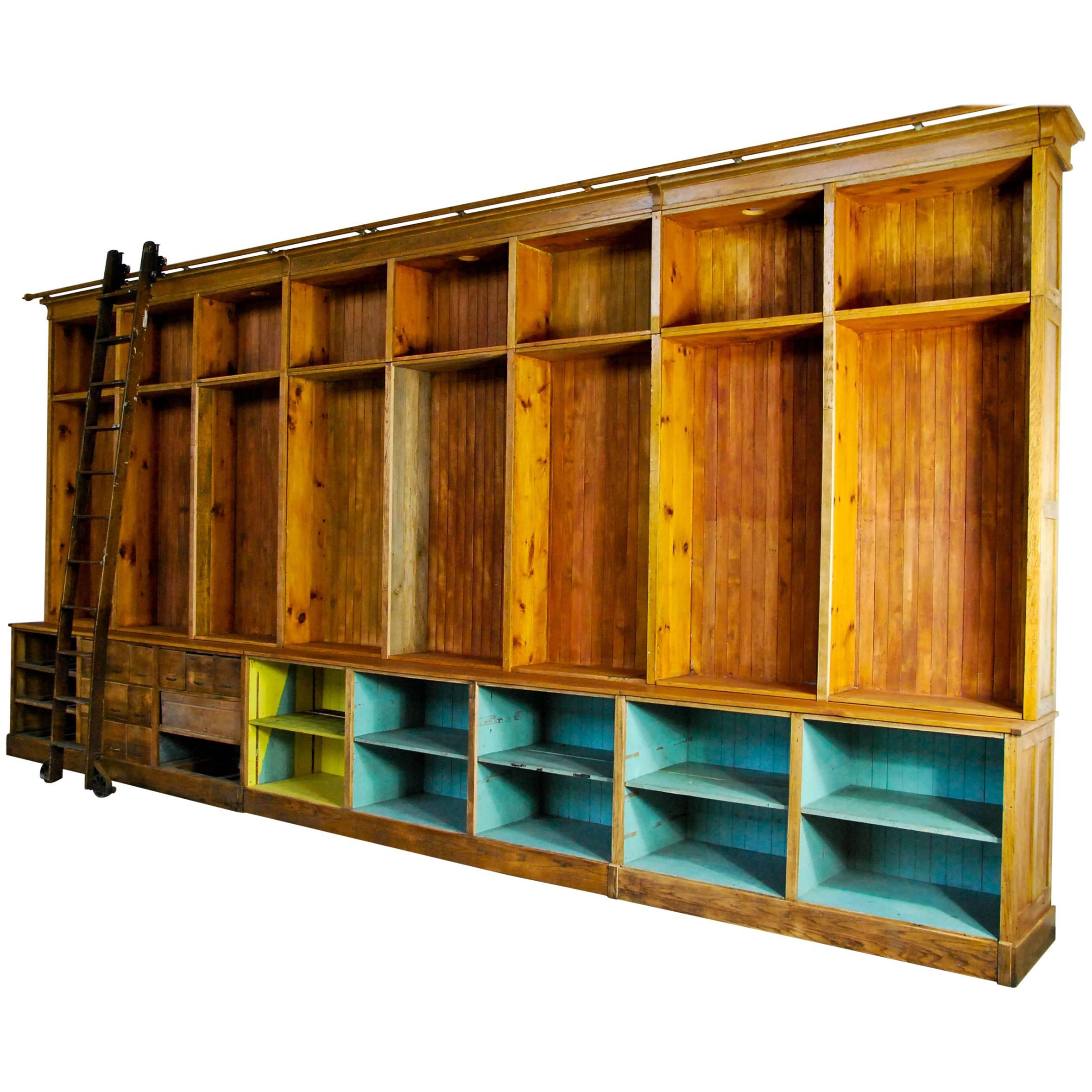 Machine Age Apothecary Cabinets