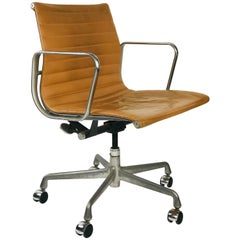 Eames Management Office Chair for Herman Miller Camel leather