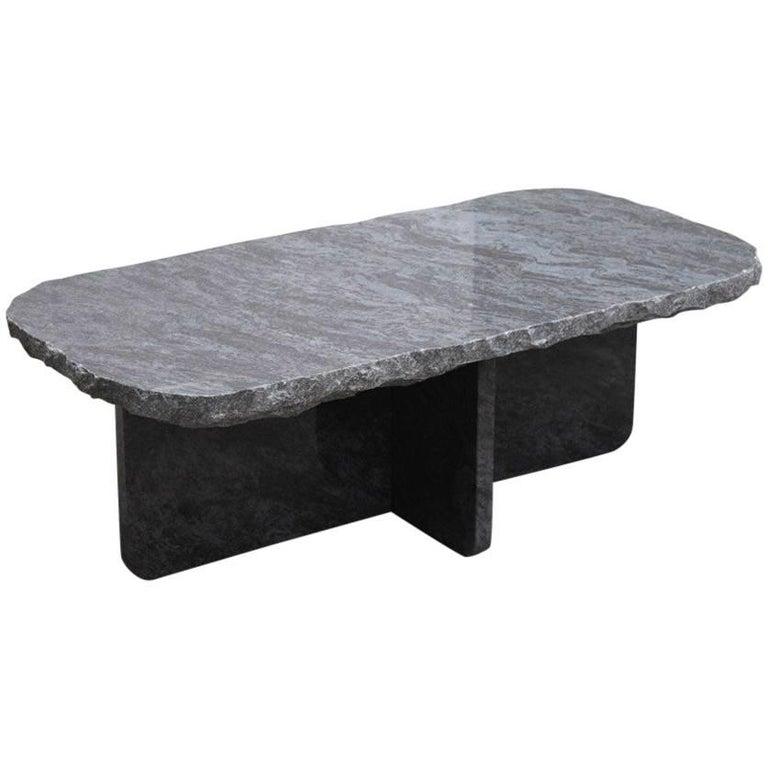 Lex Pott Fragments Granite Stone Cross Coffee Table For Sale At 1stdibs