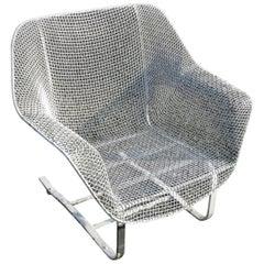 Vintage Woodard Sculptura Spring Chair