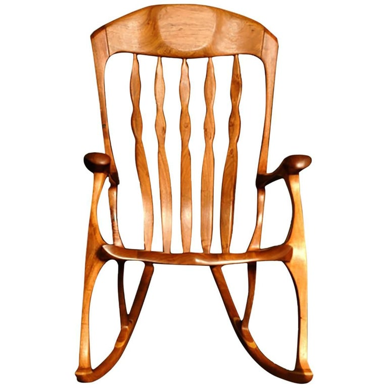 Bill Kappel Crown Queen Lenor Rocking Chair, Sam Maloof Style
