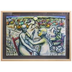 Daniel Rosel, 2001 Painting