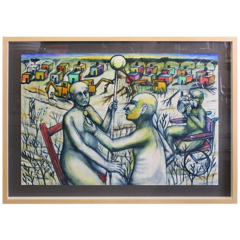 Daniel Rosel, 2001 Painting For Sale