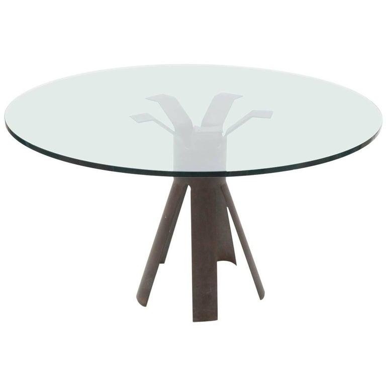"Angelo Mangiarotti, Model ""Gonzaga"" Table, Skipper, Italy"