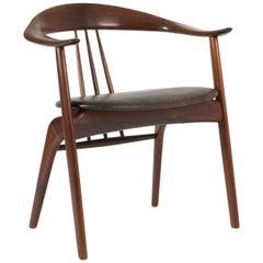 Rosewood Armchair by Arne Hovmand-Olsen