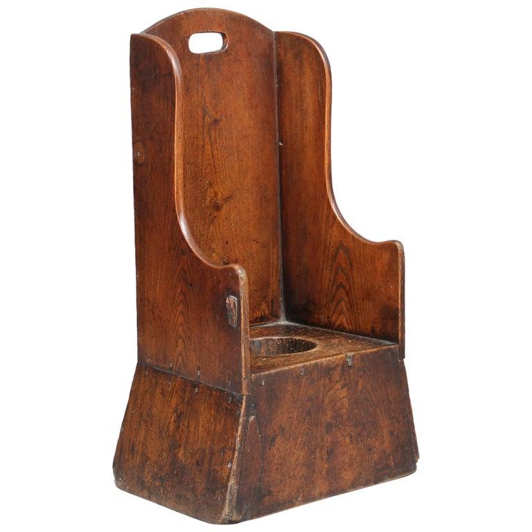 18th Century Elm Child's Chair