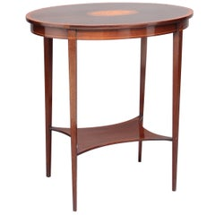 Early 20th Century Mahogany Occasional Table