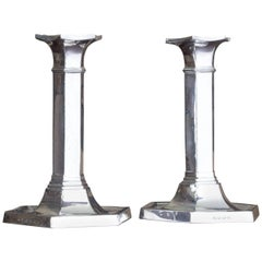 Early 20th Century Silver Candlesticks