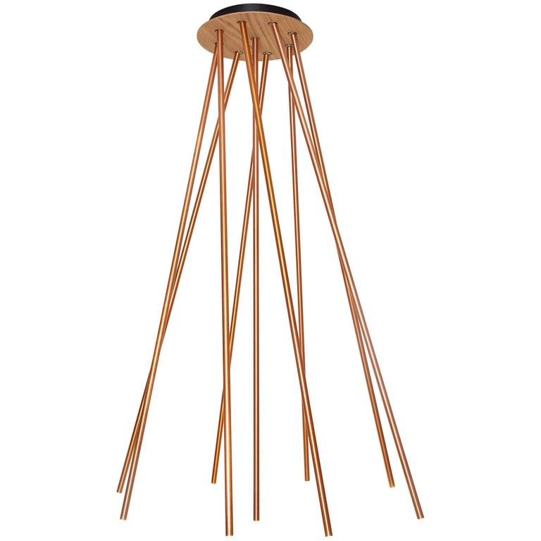 Forester 9 Lamp, Copper For Sale